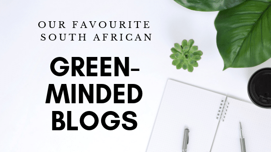 Green-minded blogs are popular now in South Africa
